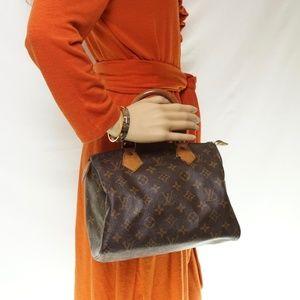 Auth Louis Vuitton Speedy 25 Vtg Bag #508L16